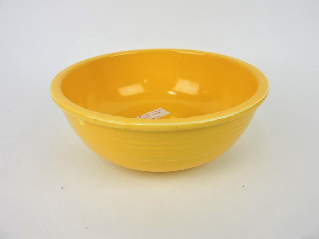 Fiesta unlisted salad bowl, yellow