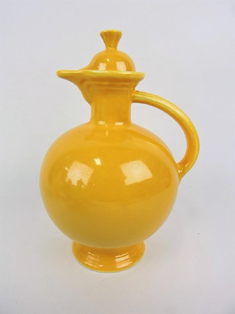 Fiesta water carafe, yellow