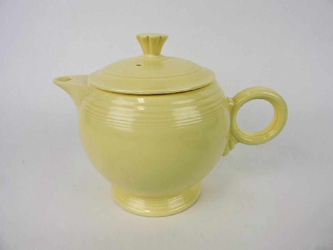 Fiesta large teapot, ivory