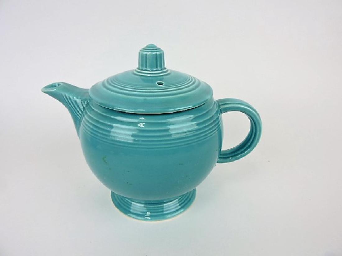Fiesta medium teapot, turquoise