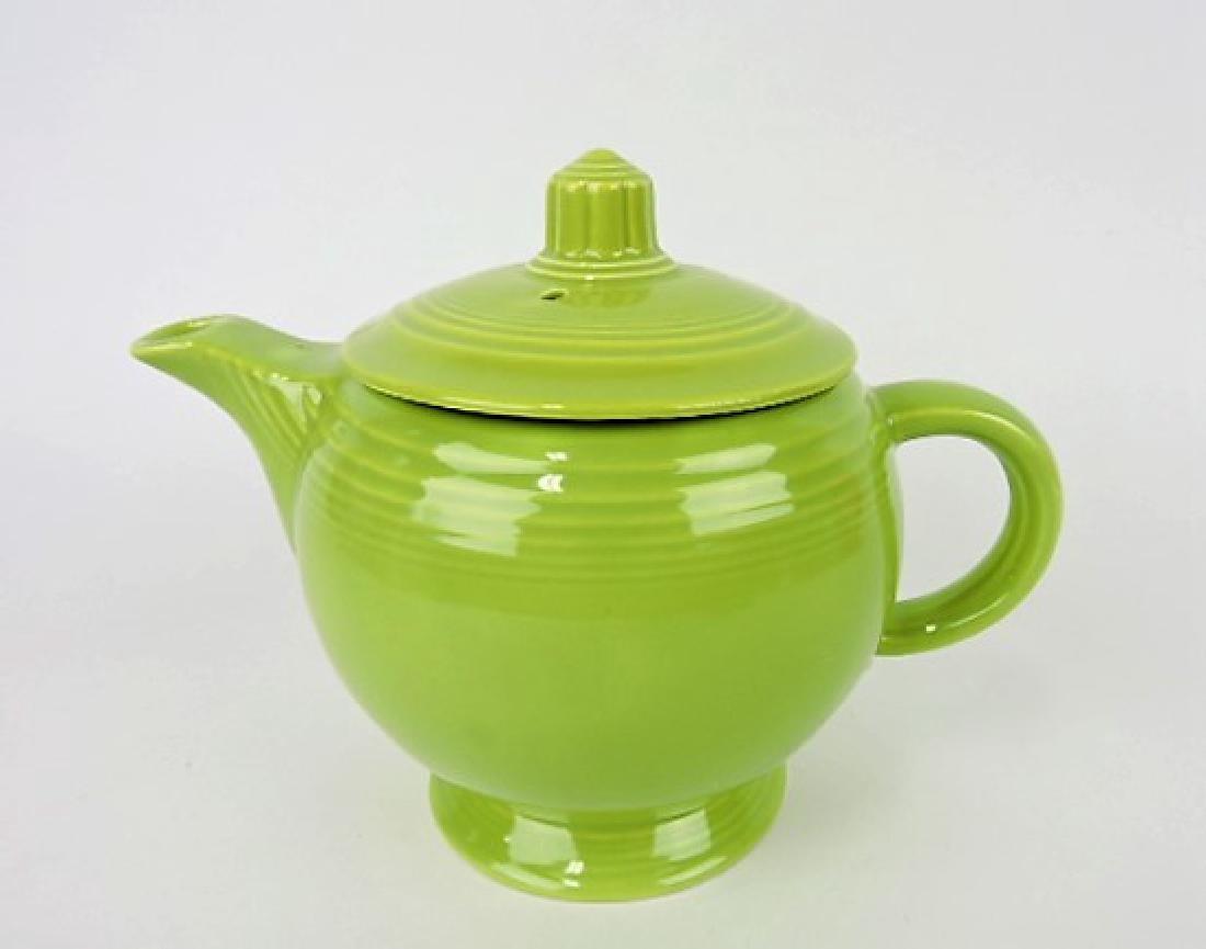 Fiesta medium teapot, chartreuse