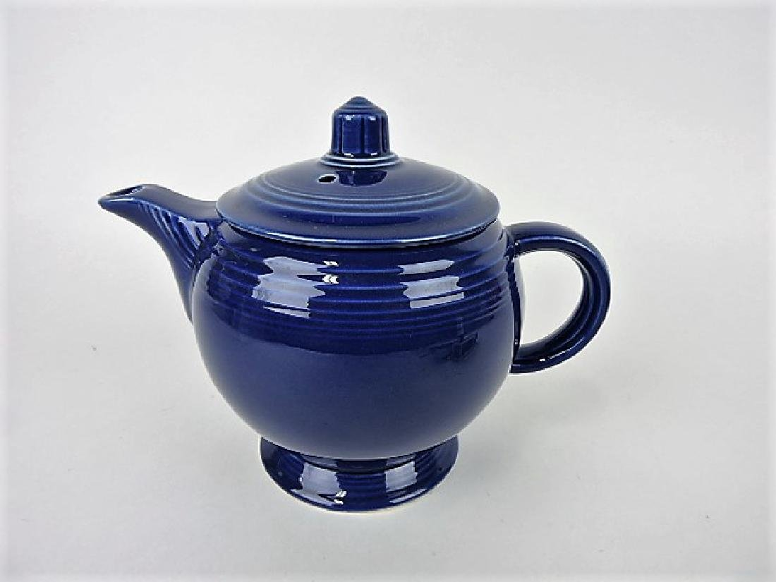 Fiesta medium teapot, cobalt