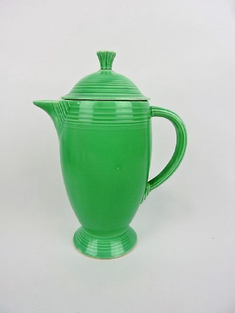 Fiesta coffee pot, green