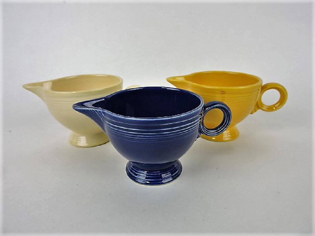 Fiesta creamer group- 3 mixed colors