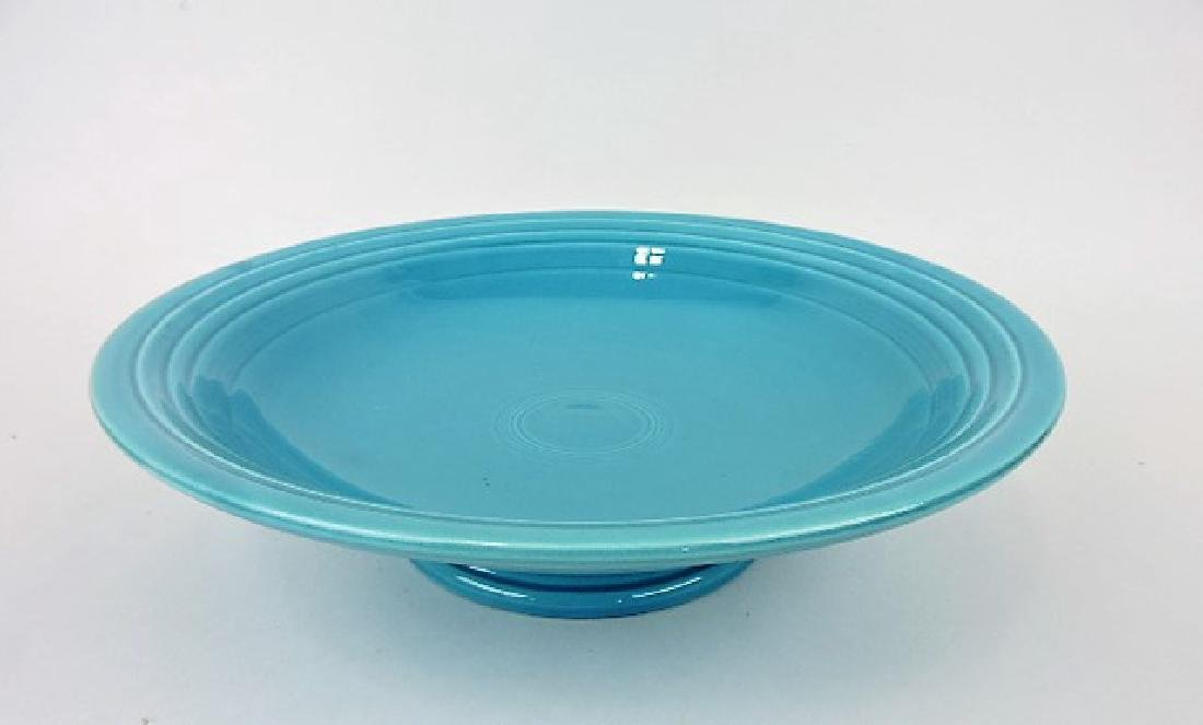 """Fiesta 12"""" compote, turquoise"""