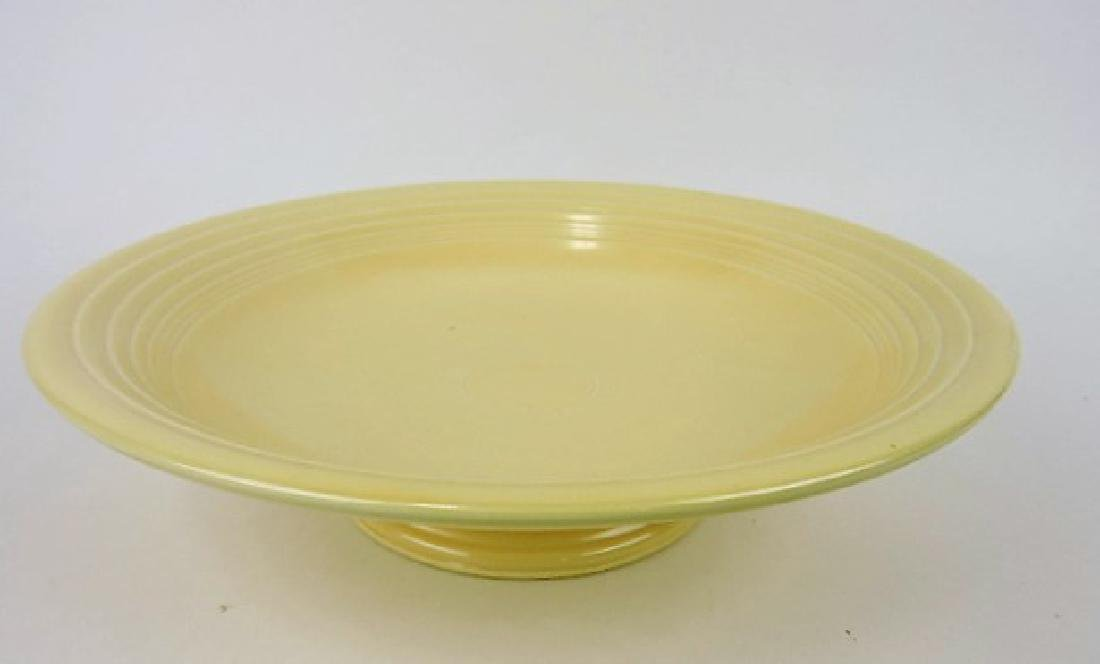 """Fiesta 12"""" compote, ivory, factory burr"""