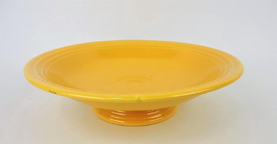 """Fiesta 12"""" compote, yellow"""