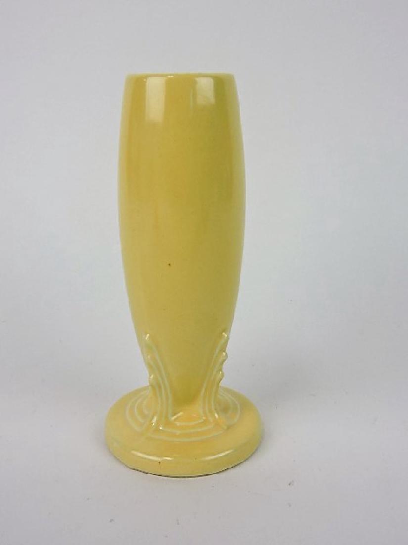 Fiesta bud vase, ivory