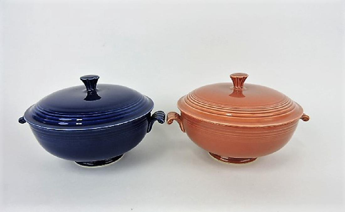 Fiesta casserole, group-cobalt & rose,