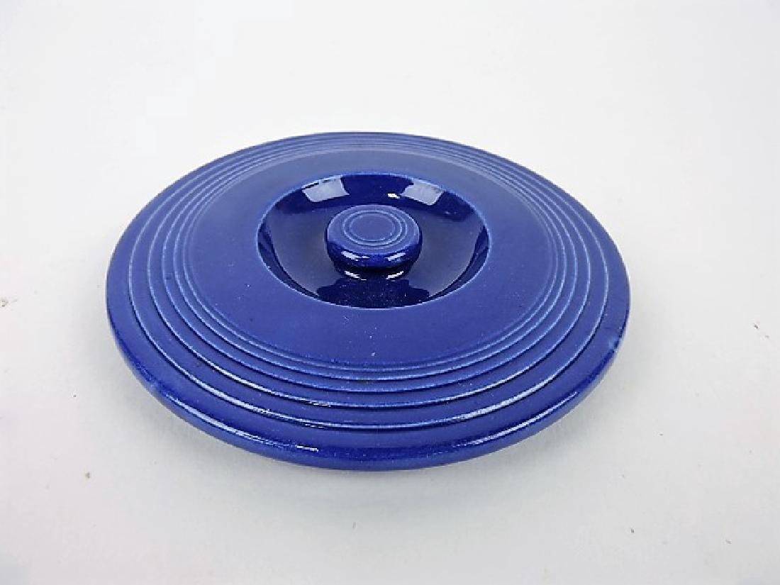 Fiesta #1 mixing bowl lid, cobalt