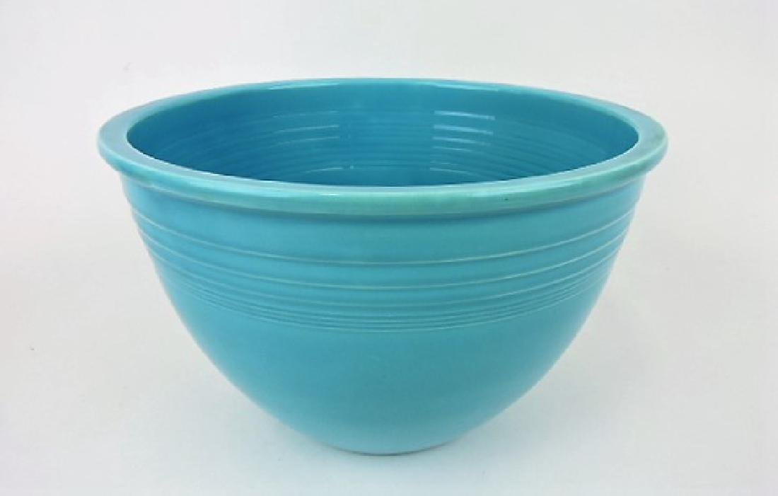 Fiesta #7 mixing bowl, turquoise