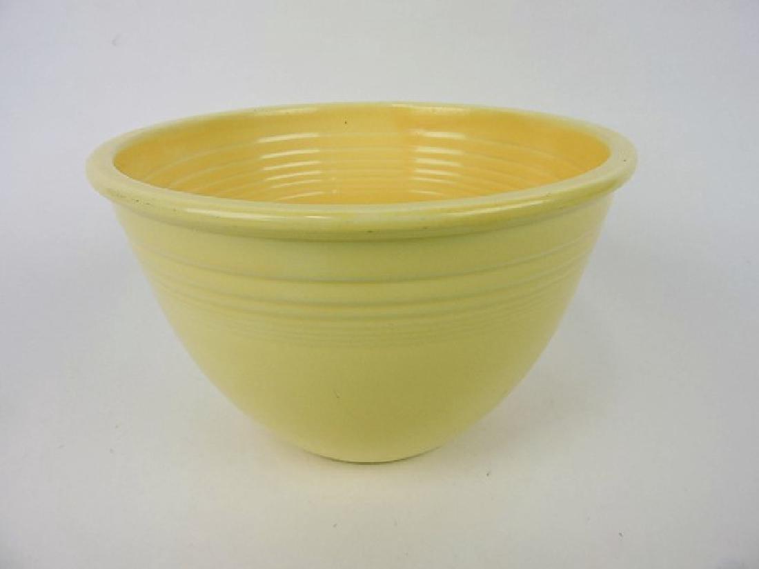 Fiesta #5 mixing bowl, ivory, wear
