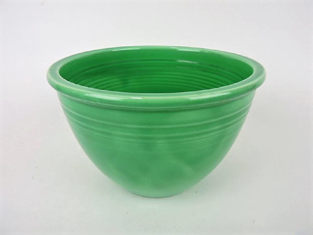Fiesta #4 mixing bowl, green, inside rings