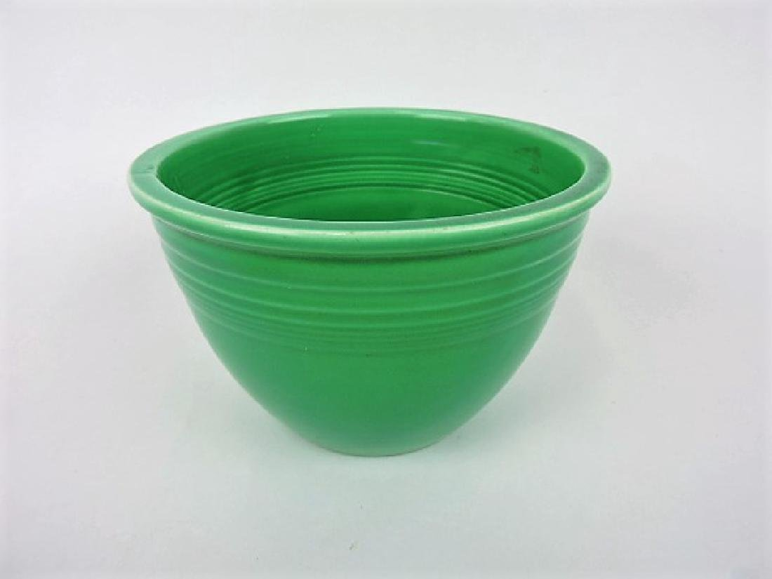 Fiesta #3 mixing bowl, green, inside rings