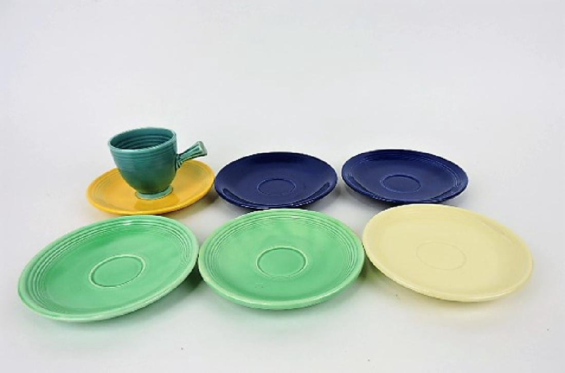 Fiesta demitasse cup & saucer group, 1 cup &