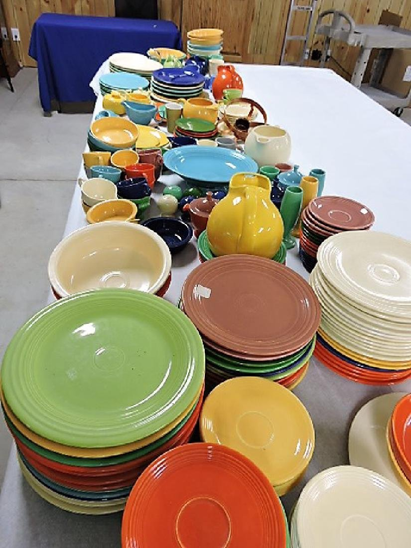 Fiesta and related lot of 245 pieces in