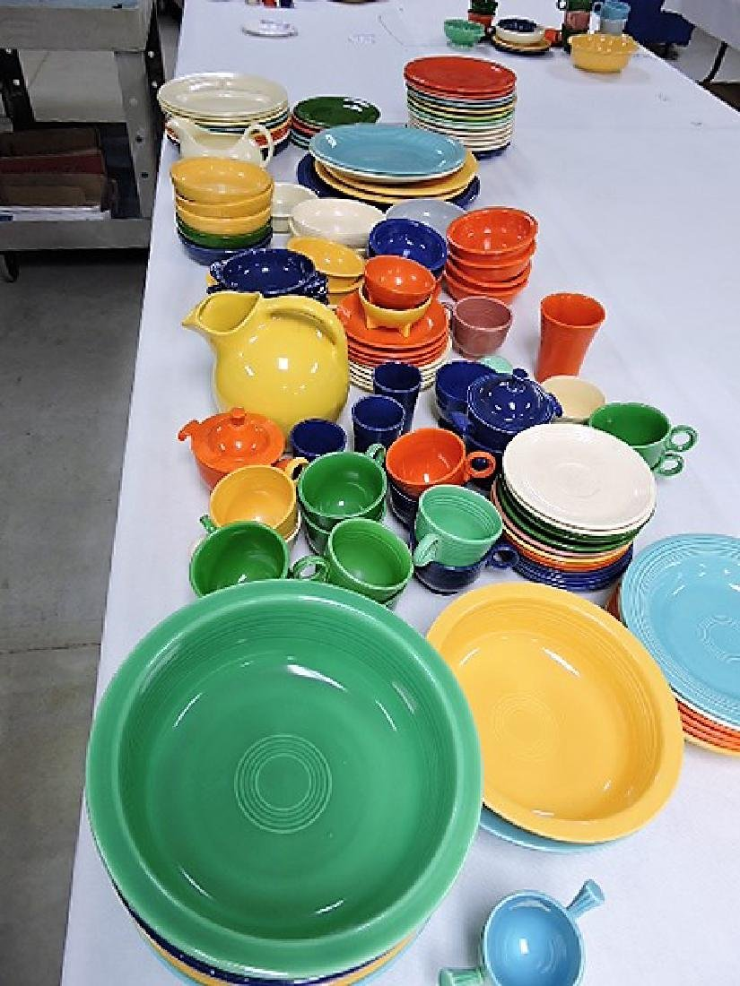 Fiesta and related lot of 125 pieces