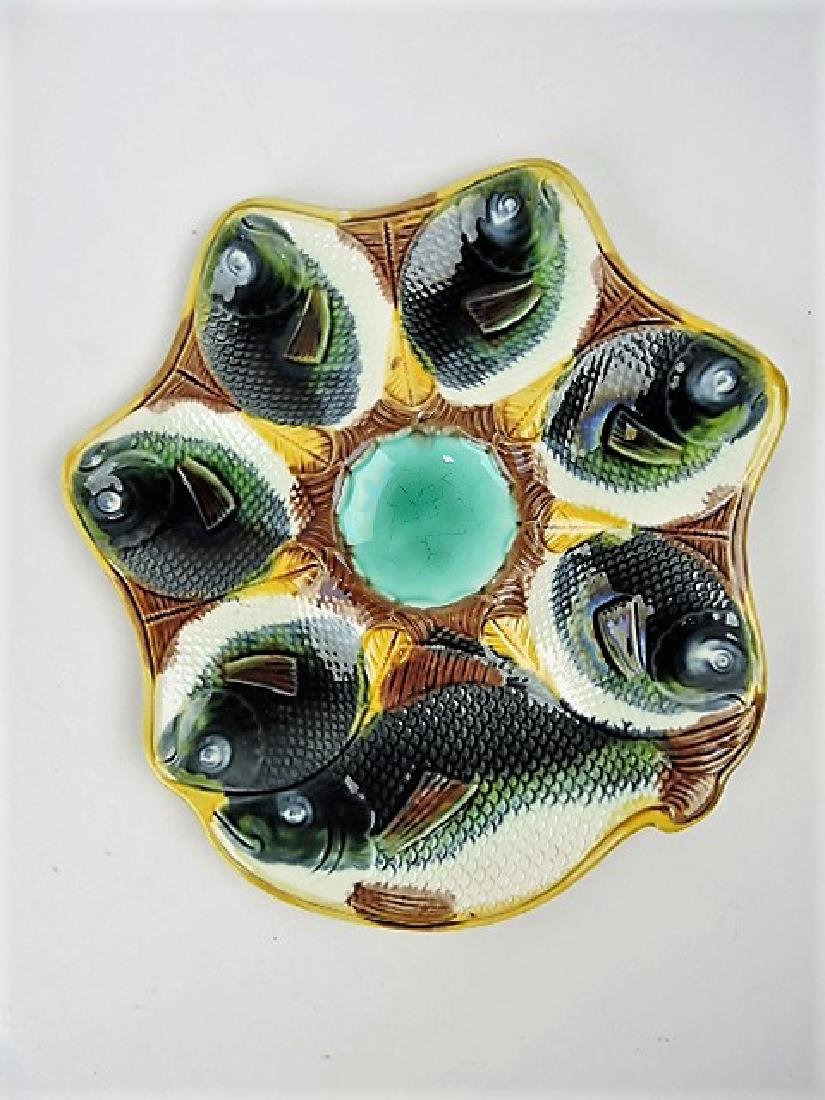"""Adams & Bromley fish oyster plate 10"""""""