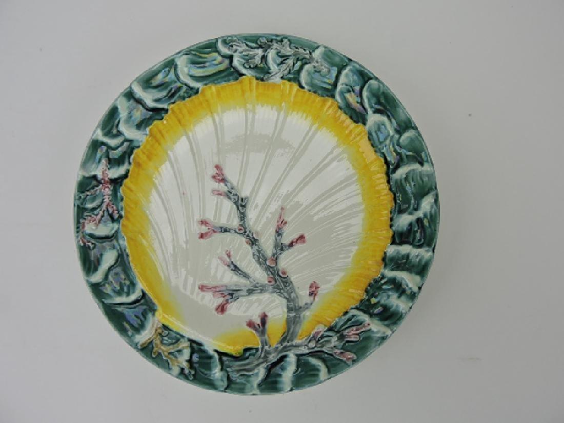 Wedgwood majolica ocean plate,