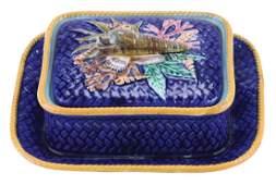 17. Wedgwood Majolica Sardine Dish c.1875,