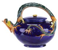 """Wedgwood Majolica """"Dragon""""™ Kettle Designed by"""