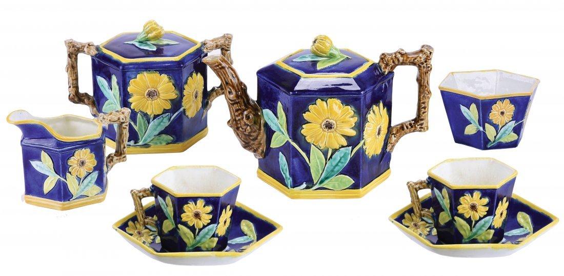 Rare Victoria Pottery Company Majolica Aesthetic