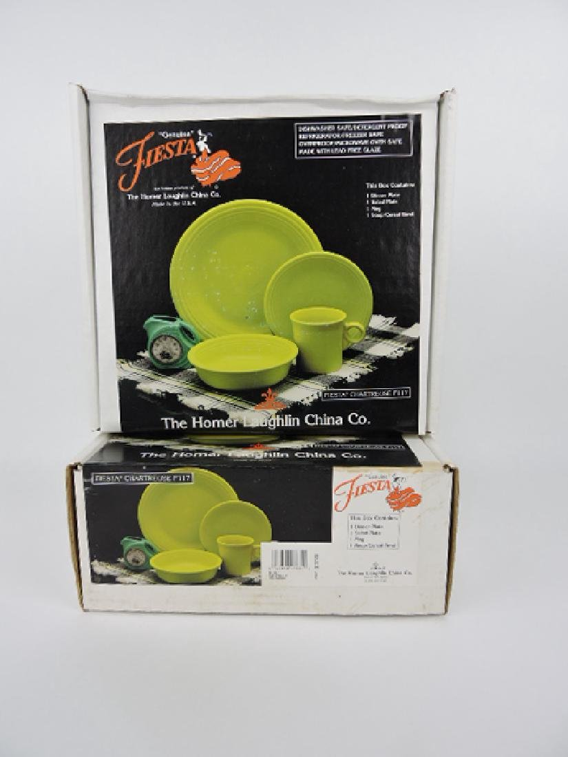 Fiesta Post 86 chartreuse  lot of two