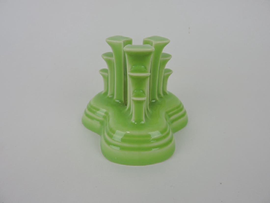 Fiesta Post 86 pyramid candle holder, single,
