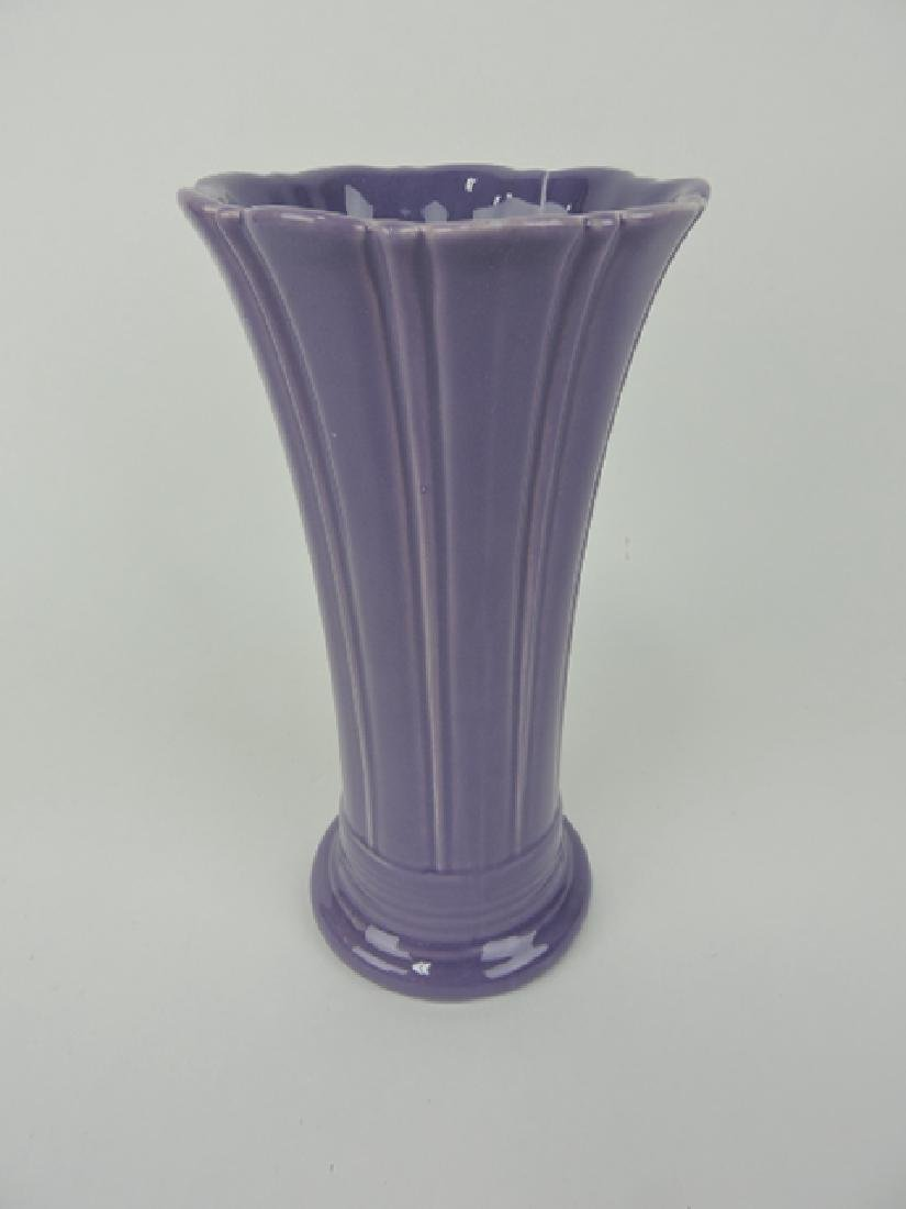 Fiesta Post 86 lilac medium vase, firing