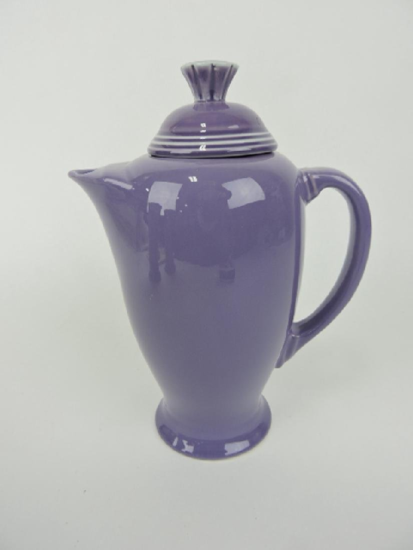 Fiesta Post 86 lilac coffee server