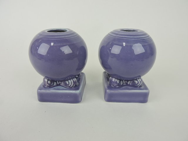 Fiesta Post 86 pair bulb candle holders