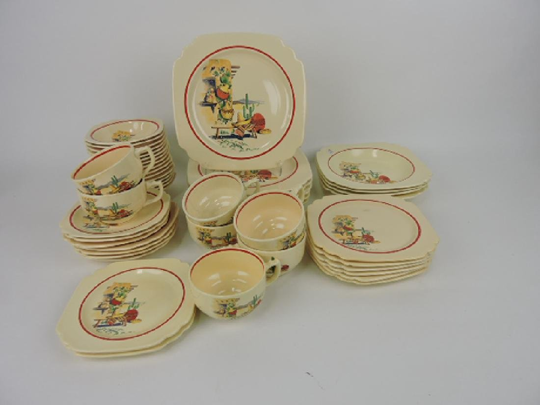 Fiesta Century Ivory Hacienda lot of 50 pcs,