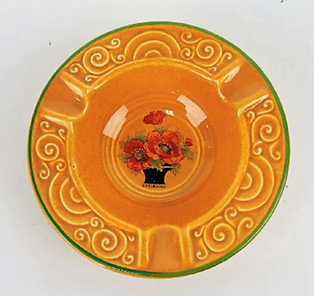 HLC pumpkin Oven Serve ashtray, RARE,