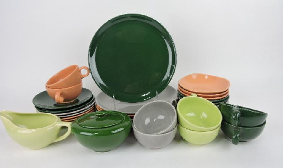 HLC dinnerware, 34 pcs, various