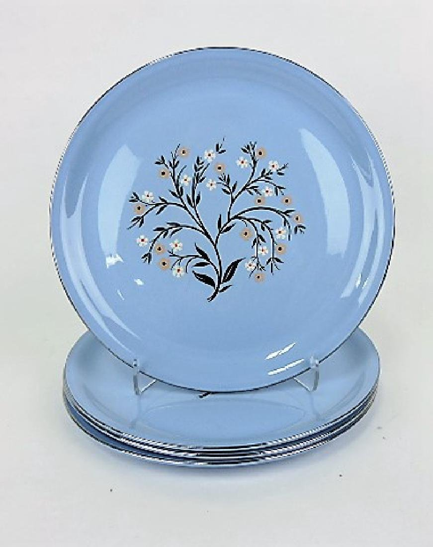 HLC Skytone set of 4 dinner plates
