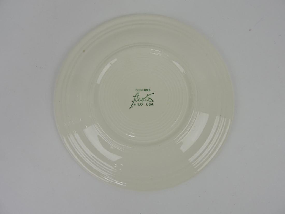 "Fiesta vintage white 10"" plate with Hawaiian - 2"