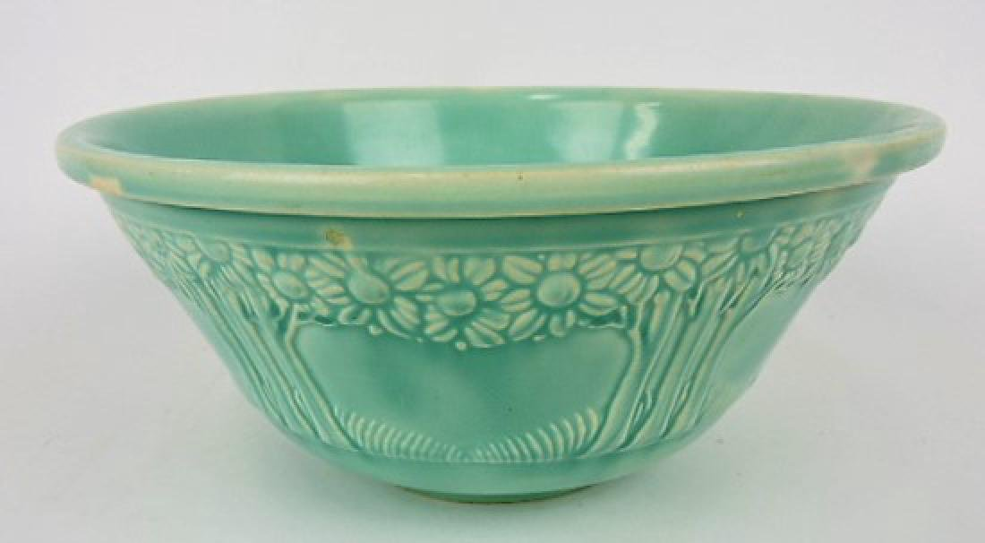 "HLC 9"" green orange tree bowl"
