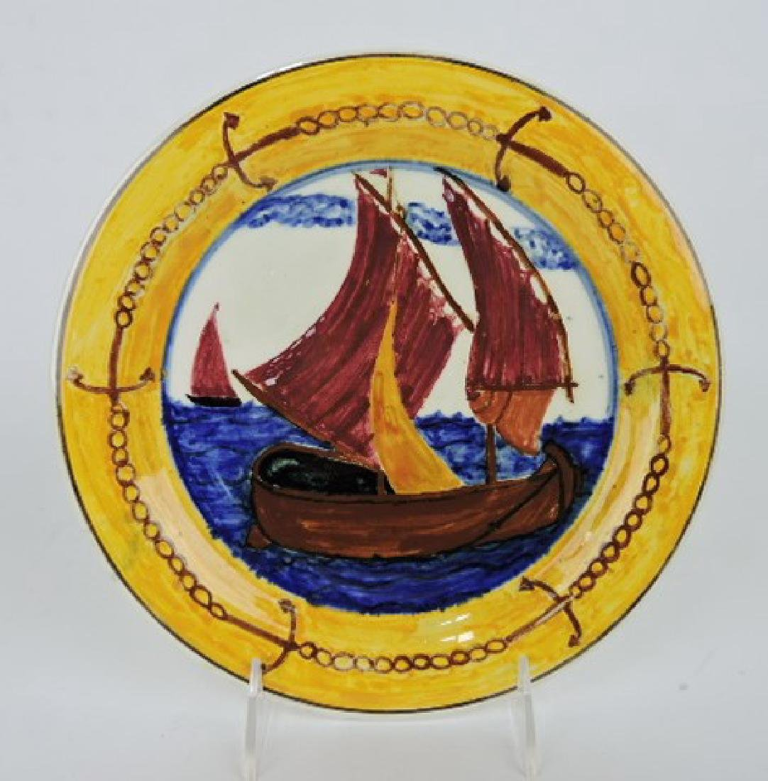 RARE HLC Newell Art Classes plate of