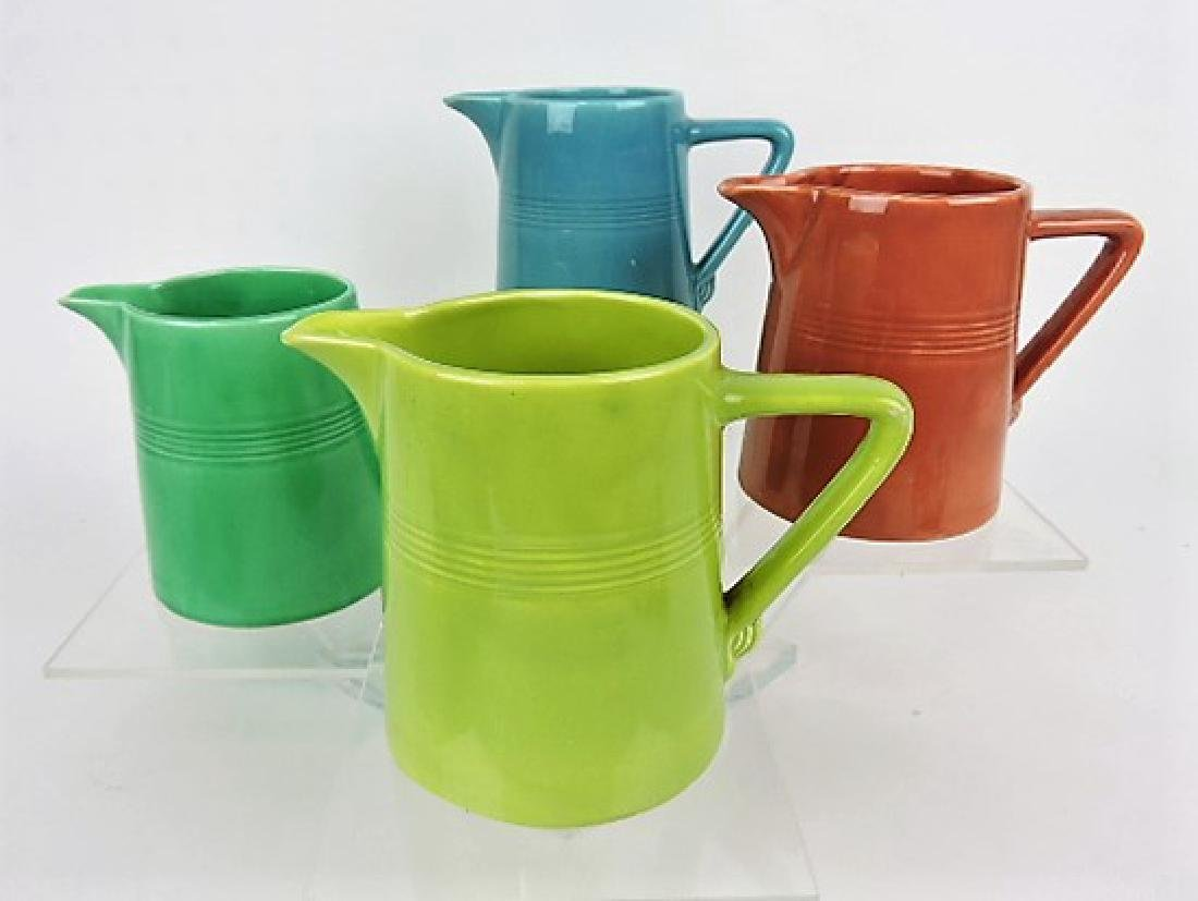Fiesta Harlequin 22 oz jug group: chartreuse,