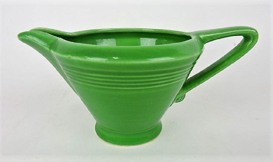 Fiesta Harlequin medium green creamer
