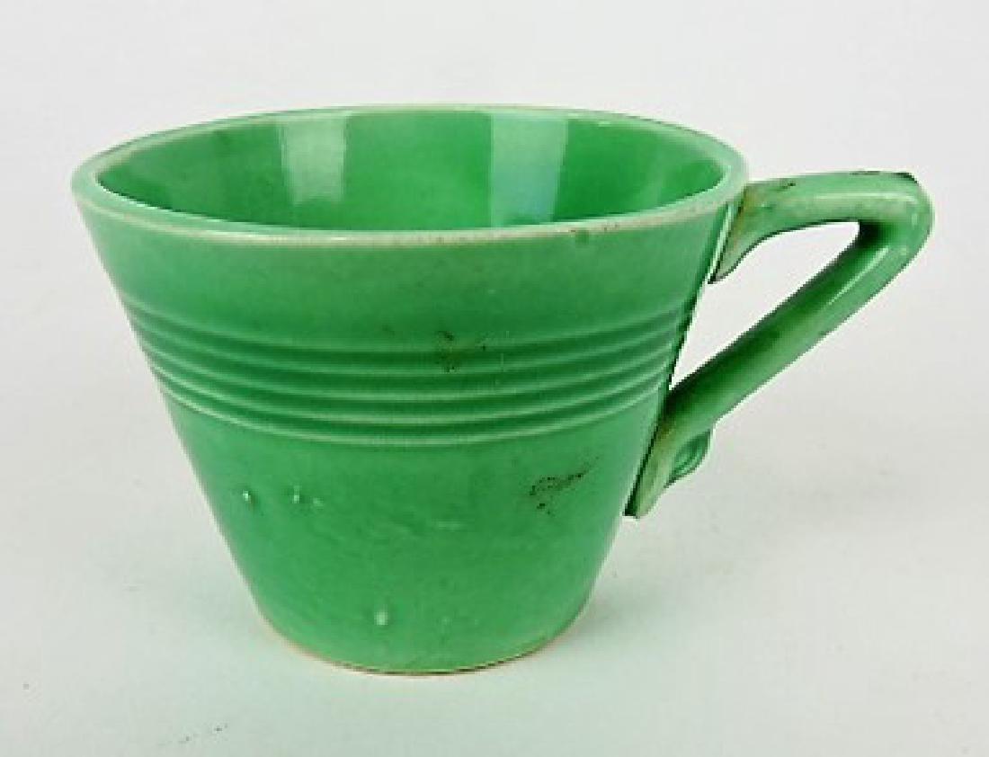 Fiesta Harlequin green demitasse cup