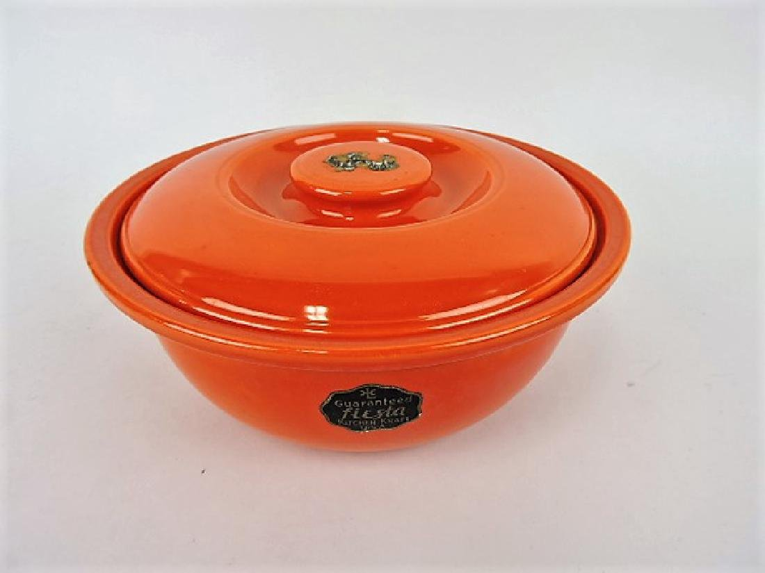 Fiesta Kitchen Kraft  red casserole