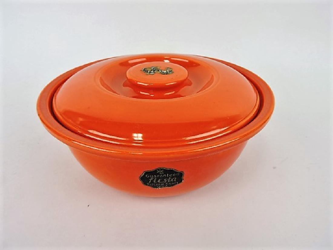 Fiesta Kitchen Kraft  red casserole