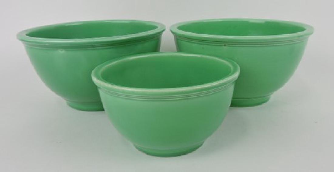 Fiesta Kitchen Kraft 3 pc mixing bowl group,