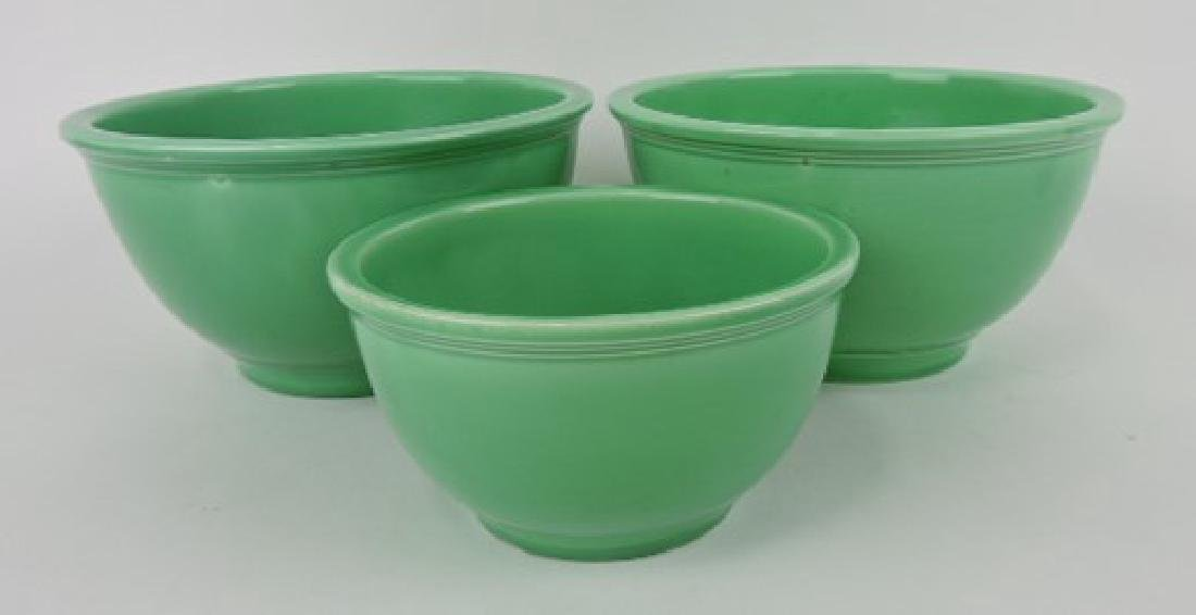 Fiesta Kitchen Kraft 3 pc mixing bowl group,