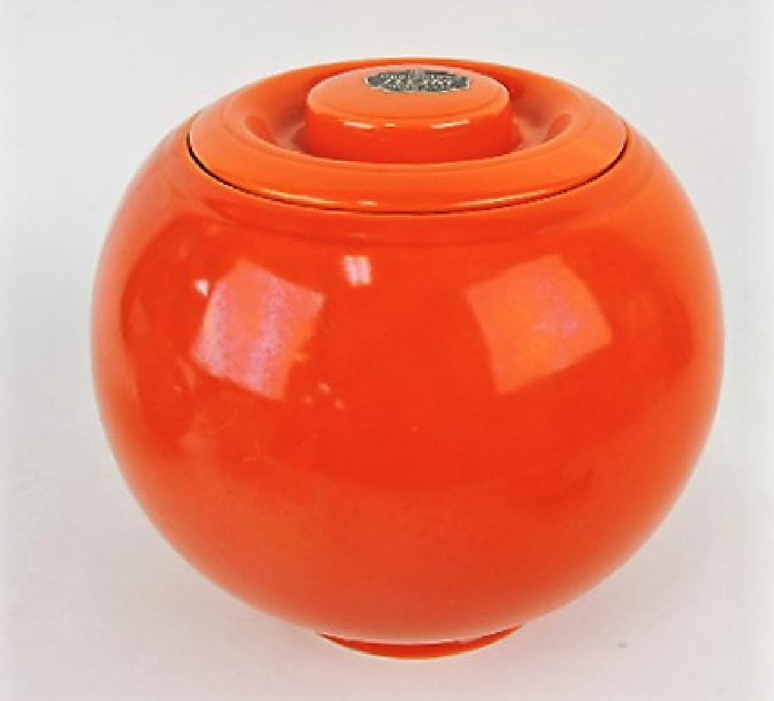 Fiesta Kitchen Kraft large covered jar, red,