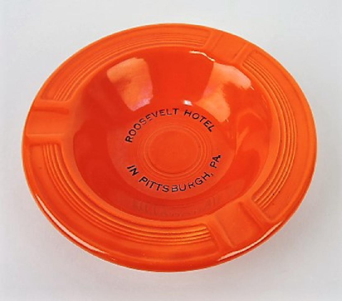 "Fiesta ashtray, red -  ""Roosevelt Hotel,"