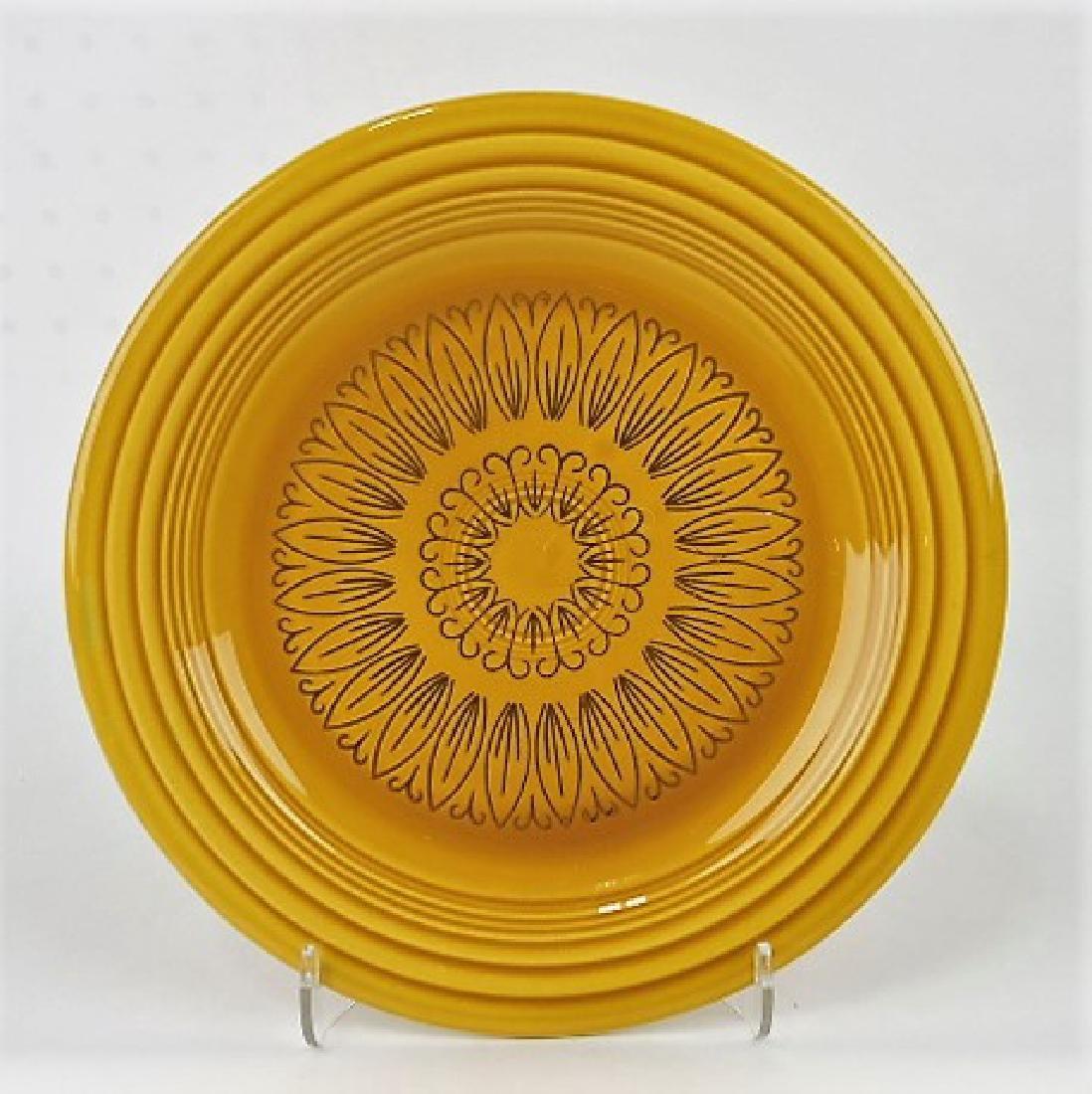 """RARE Fiesta 10"""" plate, Casualstone style"""