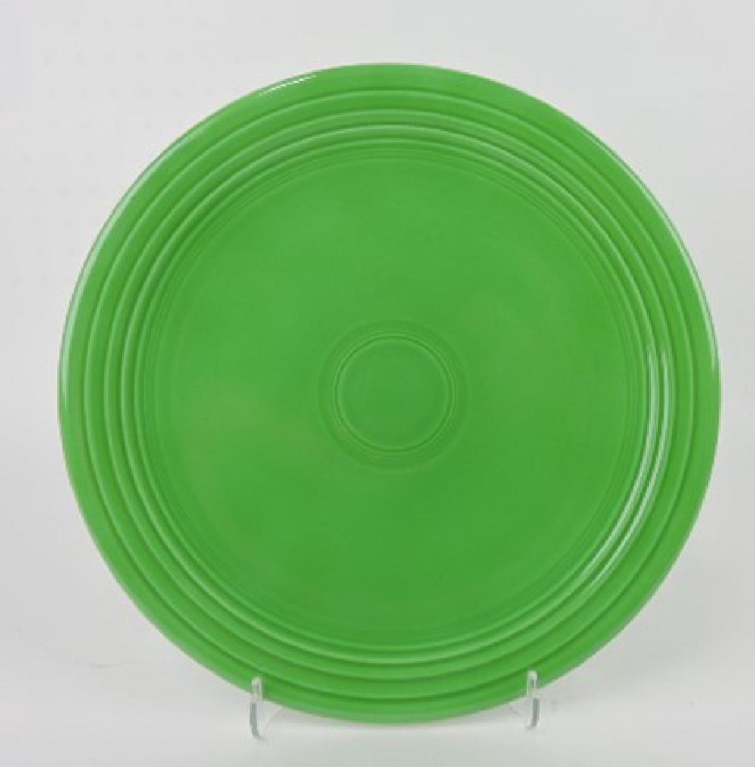 """Fiesta 13"""" chop plate, medium green"""
