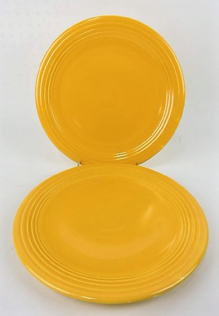 "Fiesta 13"" chop plate group, 2 yellow, both"
